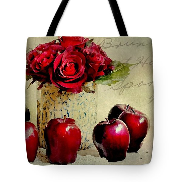 Red To Red Tote Bag