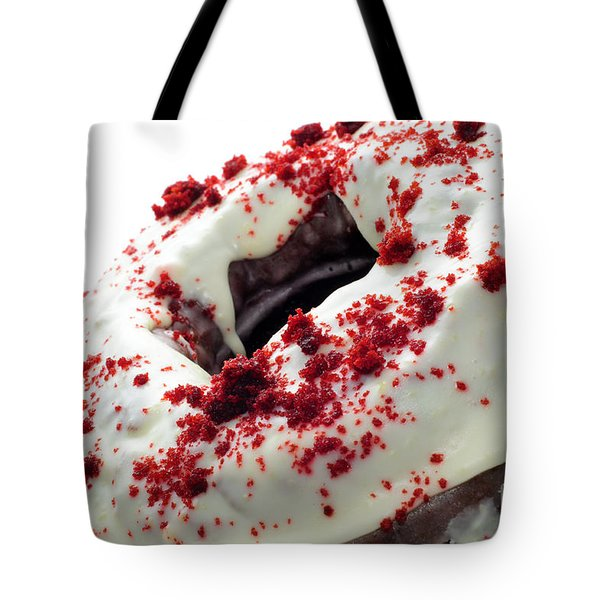 Red Velvet Bundt Cake Tote Bag by Andee Design