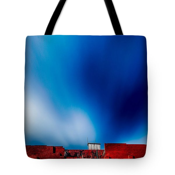 Red White And Blue Tote Bag by Bob Orsillo