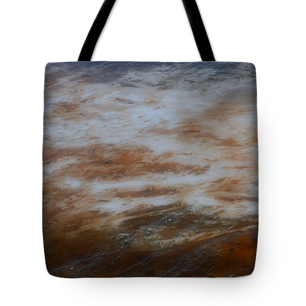 Tote Bag featuring the photograph Red White And Blue by Nadalyn Larsen