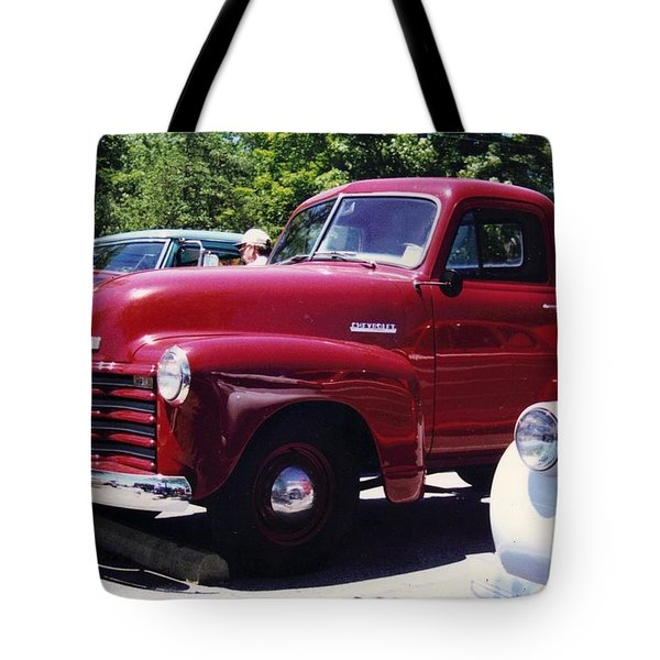 Red White And Blue Tote Bag by Stacy C Bottoms