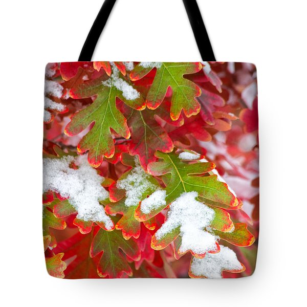 Red White And Green Tote Bag