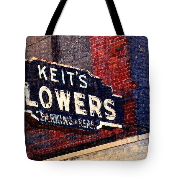 Red White Blue And Rusty Tote Bag by Desiree Paquette