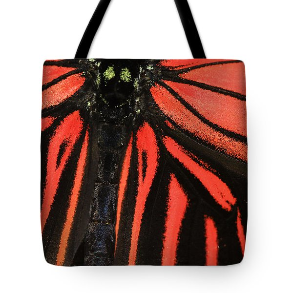 Tote Bag featuring the photograph Red Wings by Sonya Lang