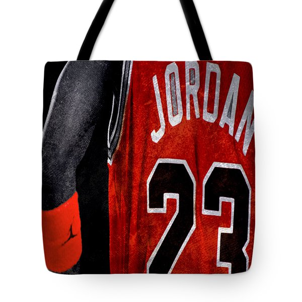 Tote Bag featuring the digital art Red Wrist Band by Brian Reaves
