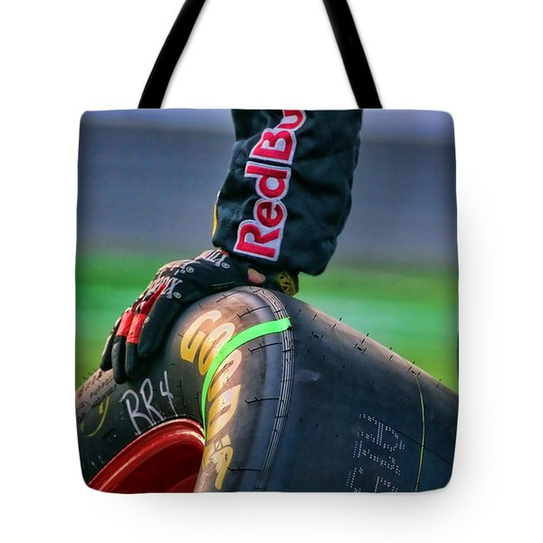 Redbull Good Year By Diana Sainz Tote Bag
