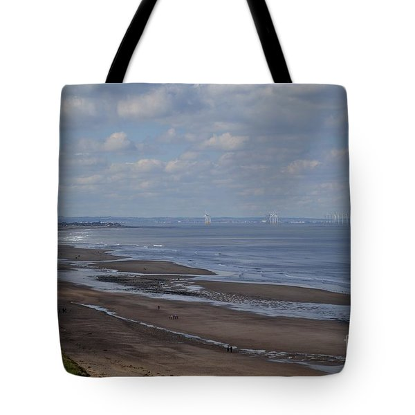 Redcar From A Distance Tote Bag