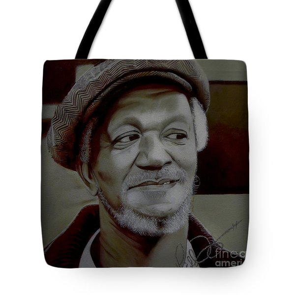 Redd Foxx Tote Bag by Chelle Brantley