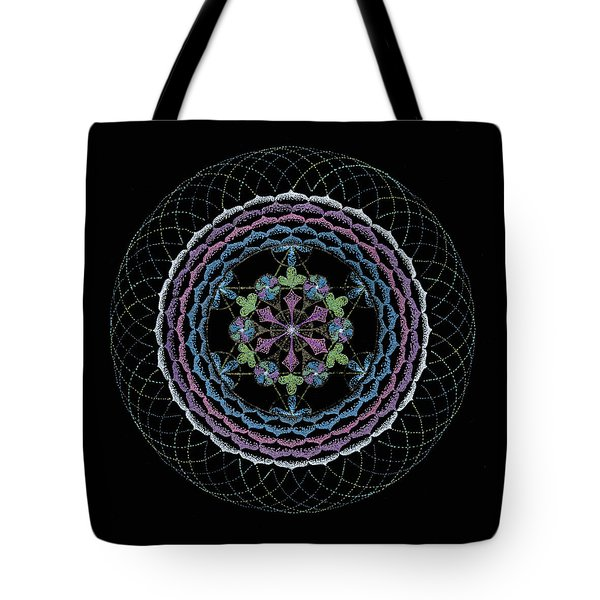 Tote Bag featuring the painting Redemption by Keiko Katsuta