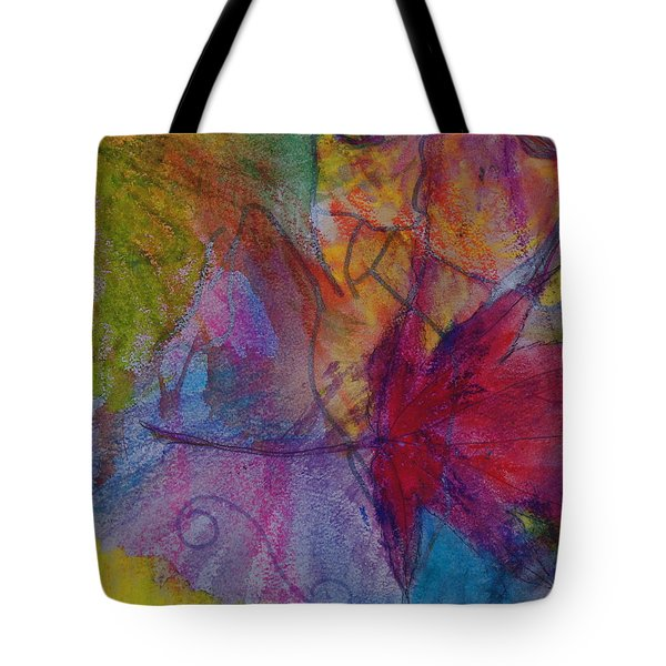 Redgum In Spring Breezes Tote Bag by Claudia Smaletz