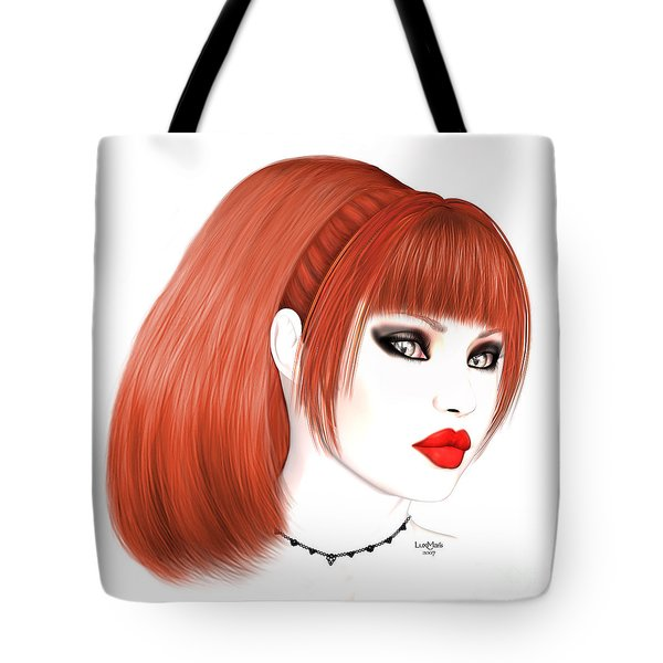 Redhead Cassia Tote Bag by Renate Janssen