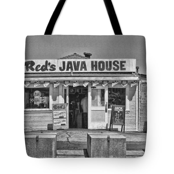 Red's Java House San Francisco By Diana Sainz Tote Bag