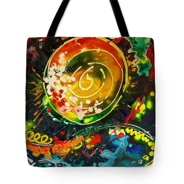 Redshift Canvas 3 Tote Bag