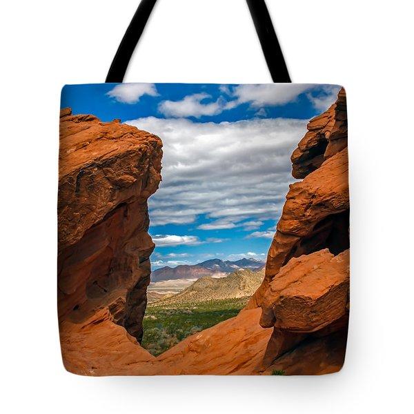 Redstone Tote Bag by Robert Bales