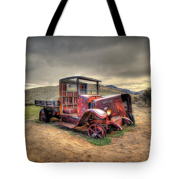 Redtired Tote Bag