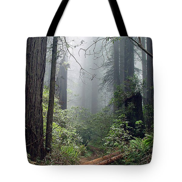 Redwood Mist Tote Bag