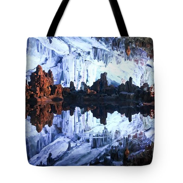 Reed Flute Cave Guillin China Tote Bag by Thomas Marchessault