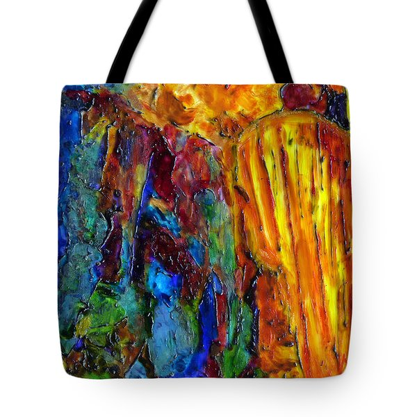 Reed Flute Cave Tote Bag