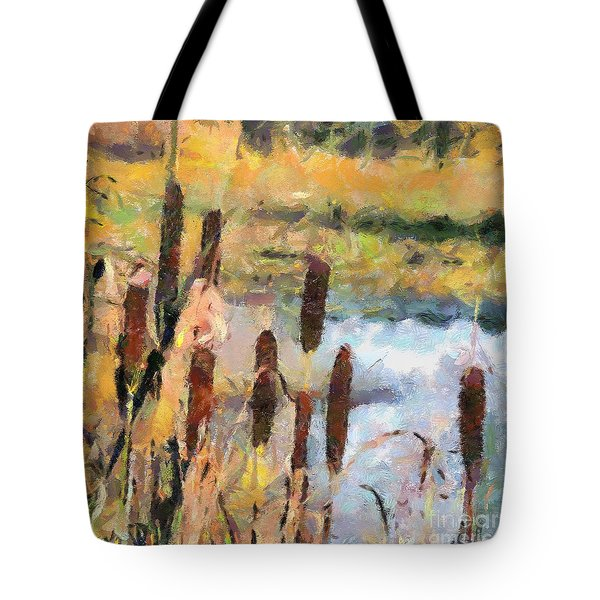 Reedmace Tote Bag