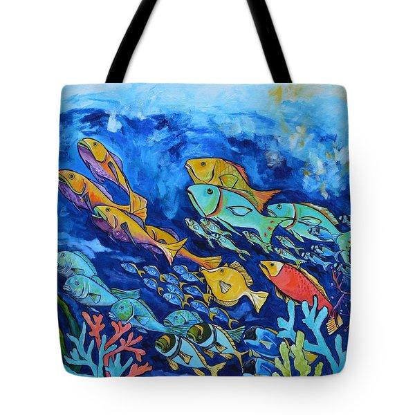 Reef Fish Tote Bag