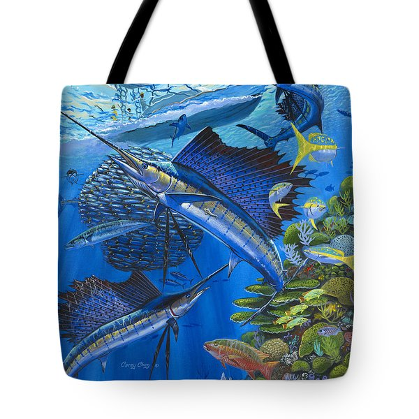 Reef Frenzy Off00141 Tote Bag