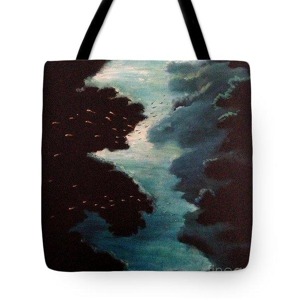 Reef Pohnpei Tote Bag by Karen  Ferrand Carroll