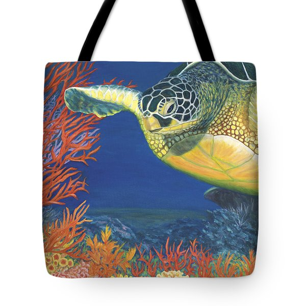 Reef Rider Tote Bag