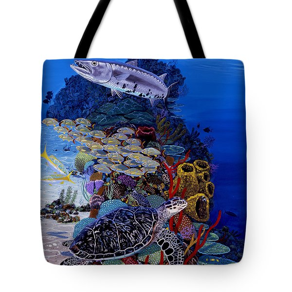 Reefs Edge Re0025 Tote Bag by Carey Chen