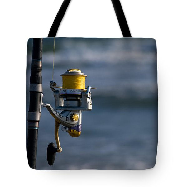 Tote Bag featuring the photograph Reel Excitement by Greg Graham