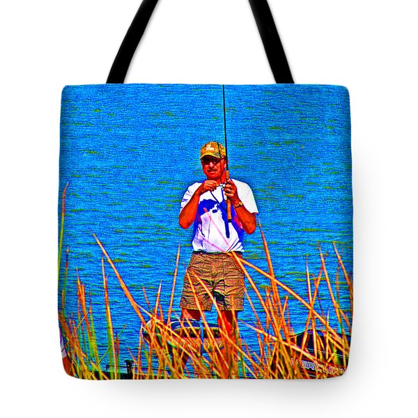 Reel Inn Tote Bag by Joseph Coulombe
