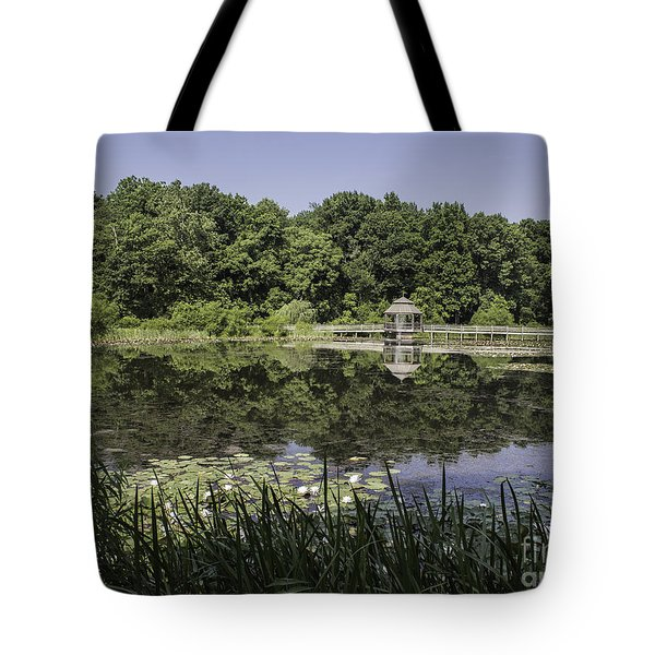 Refection In The Pond Tote Bag