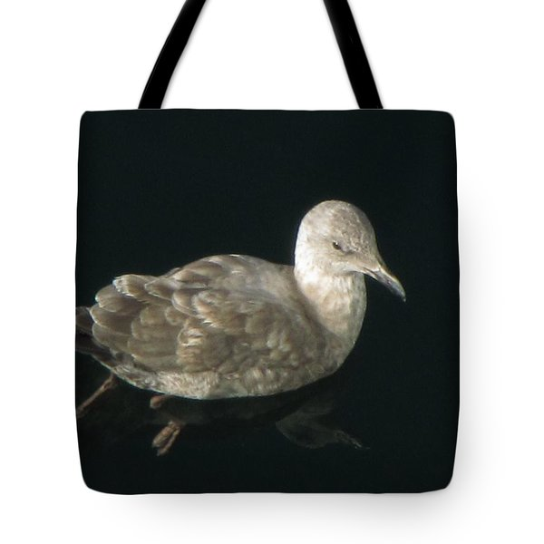 Refections Of A Gull Tote Bag