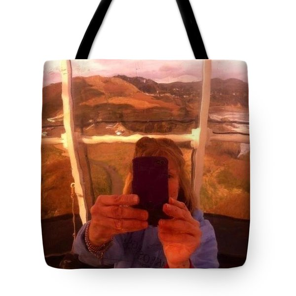 Reflect Back  Tote Bag by Susan Garren