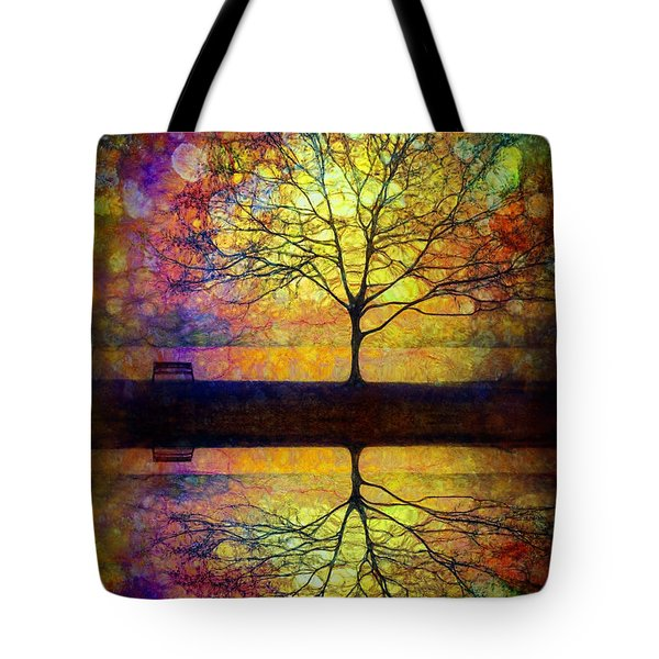 Reflected Dreams Tote Bag