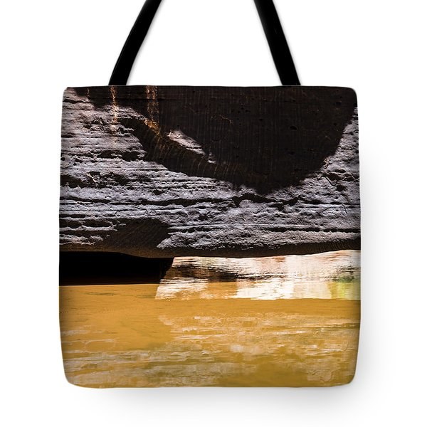 Reflected Formations Tote Bag