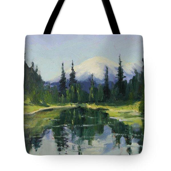 Picnic By The Lake II Tote Bag