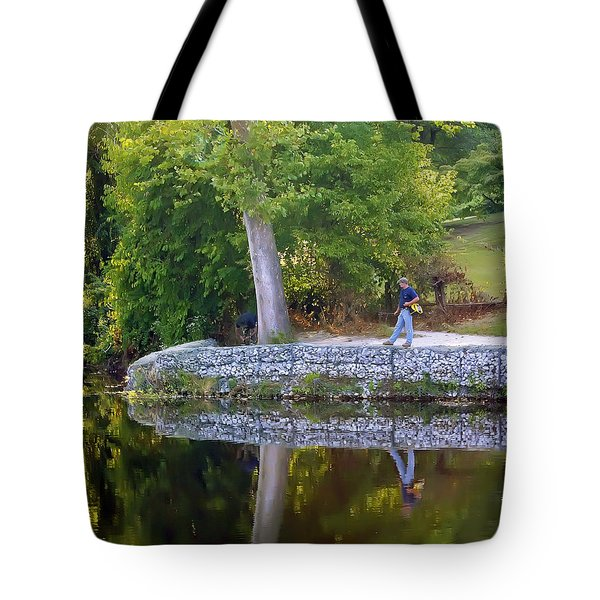 Reflecting Tote Bag by Brian Wallace