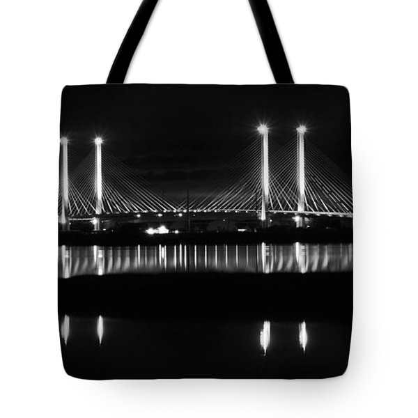 Reflecting Bridge Tote Bag