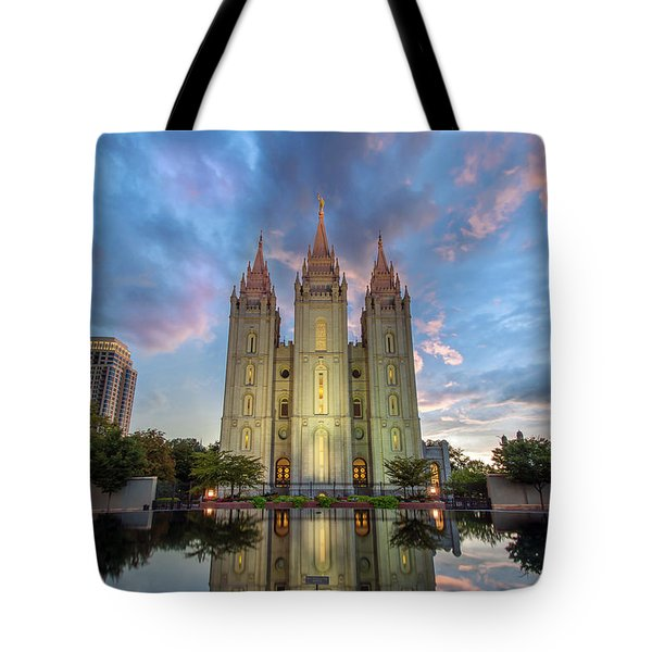 Reflecting On Faith Tote Bag