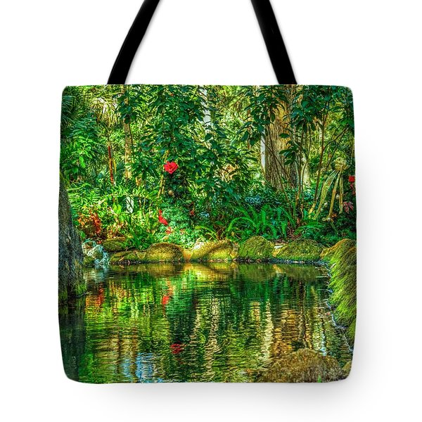 Reflecting On The Day Tote Bag