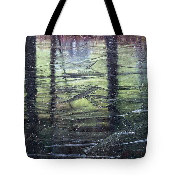 Tote Bag featuring the photograph Reflecting On Transitions by Mary Amerman