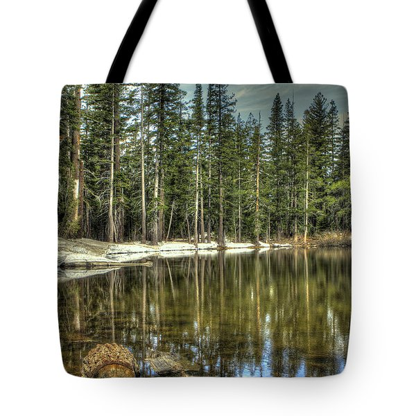 reflecting pond Carson Spur Tote Bag