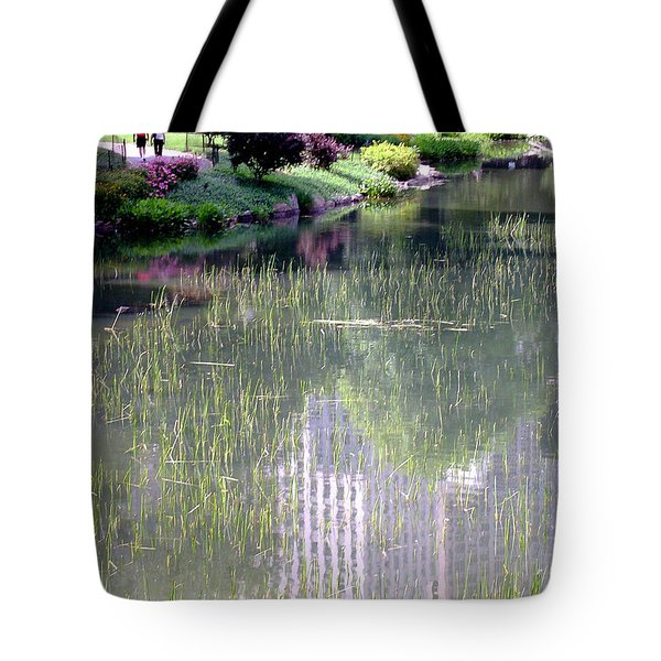 Reflection And Movement Tote Bag