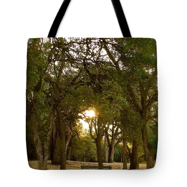 Reflection At Sunrise Tote Bag