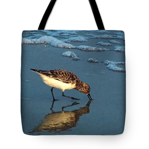 Reflection At Sunset Tote Bag
