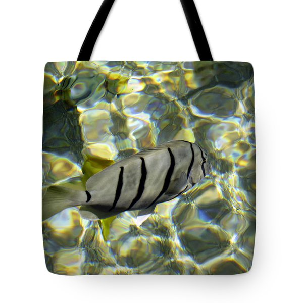 Reflection Fish Tote Bag