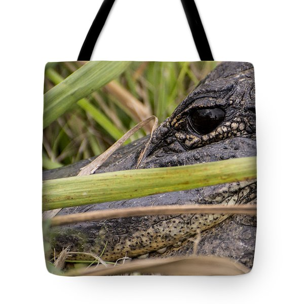 Reflection In His Eyes Tote Bag by Penny Lisowski