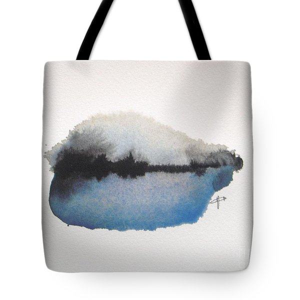 Reflection In The Lake Tote Bag by Vesna Antic