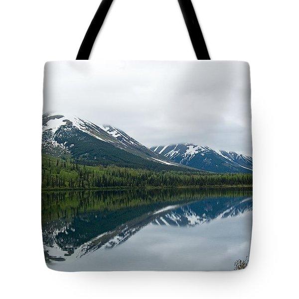 Reflection Montana  Tote Bag