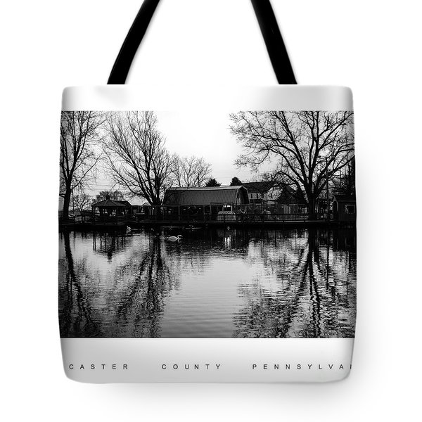 Reflection In The Pond Tote Bag